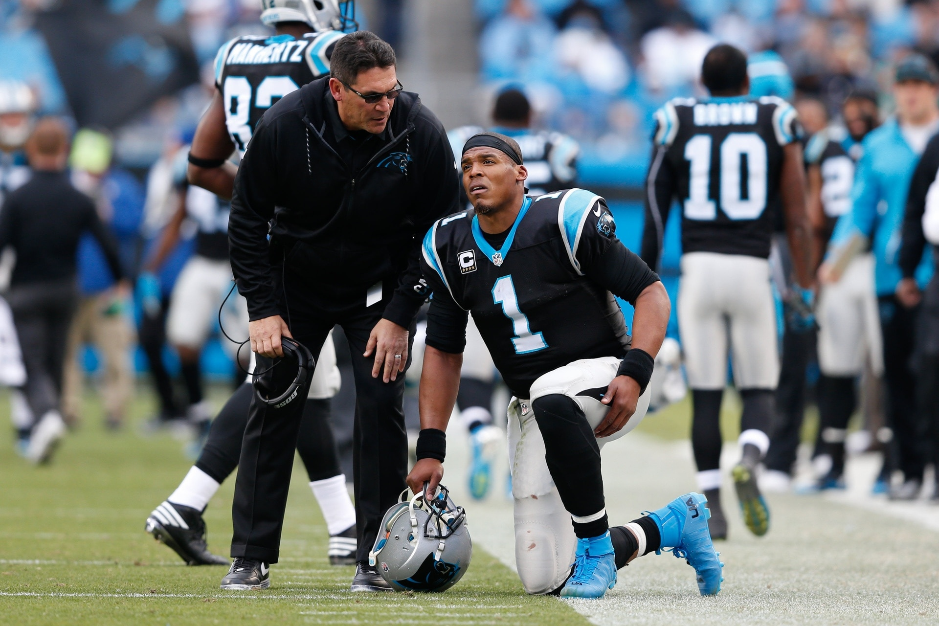 It's about time the Carolina Panthers get Cam Newton pass protection.