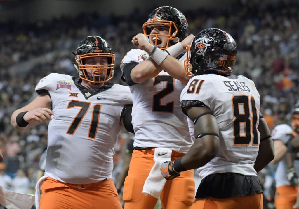 Oklahoma State quarterback Mason Rudolph and the Cowboys have their first big test in college football Week 4