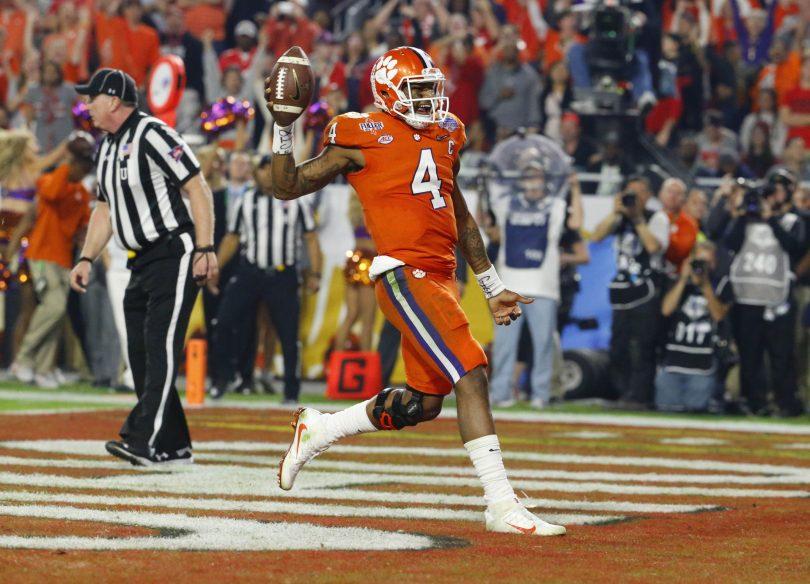 DeAndre Hopkins, Kareem Jackson predict Alabama-Clemson title game