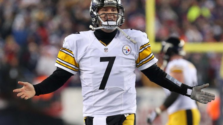 Ben Roethlisberger could be hanging up his cleats here soon.