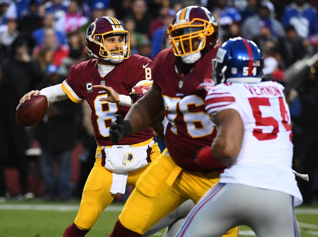 Kirk Cousins' future in Washington is up in the air