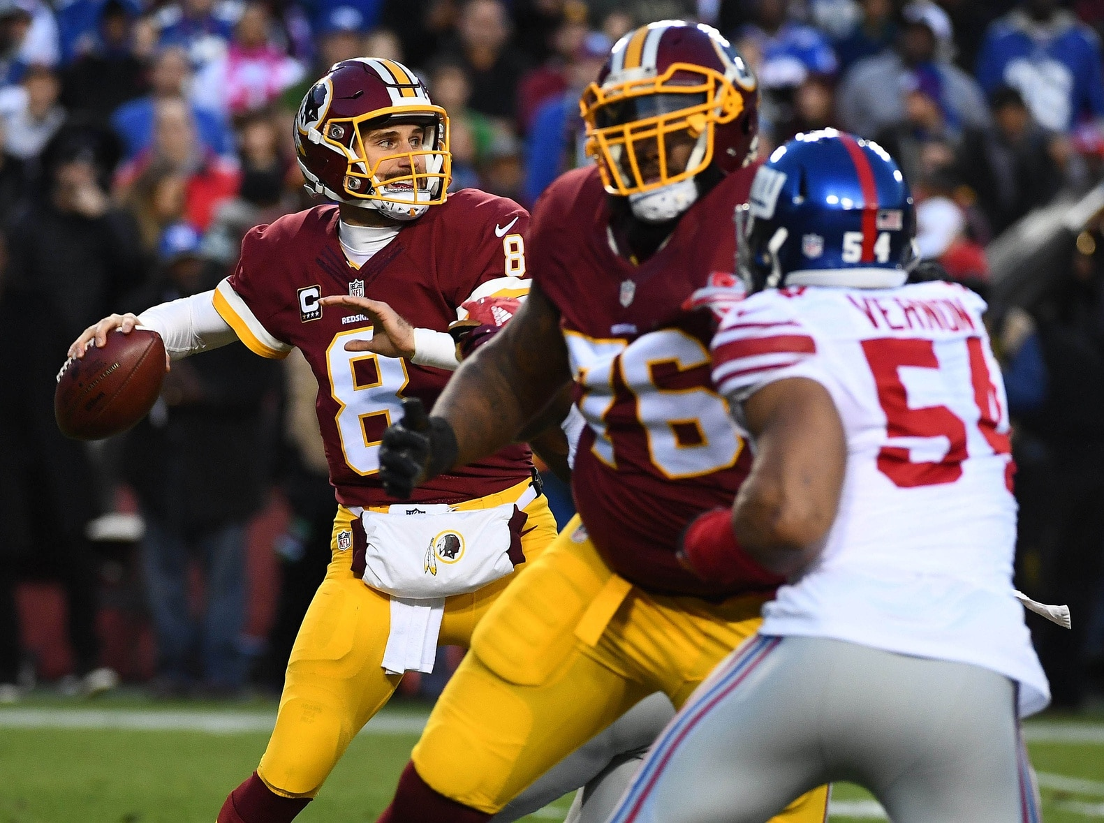 Kirk Cousins' future in Washington Redskins is up in the air