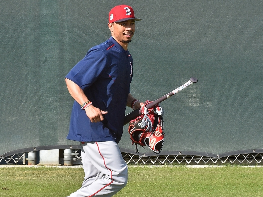 332955b9a Mookie Betts joins elite Red Sox company with hot start