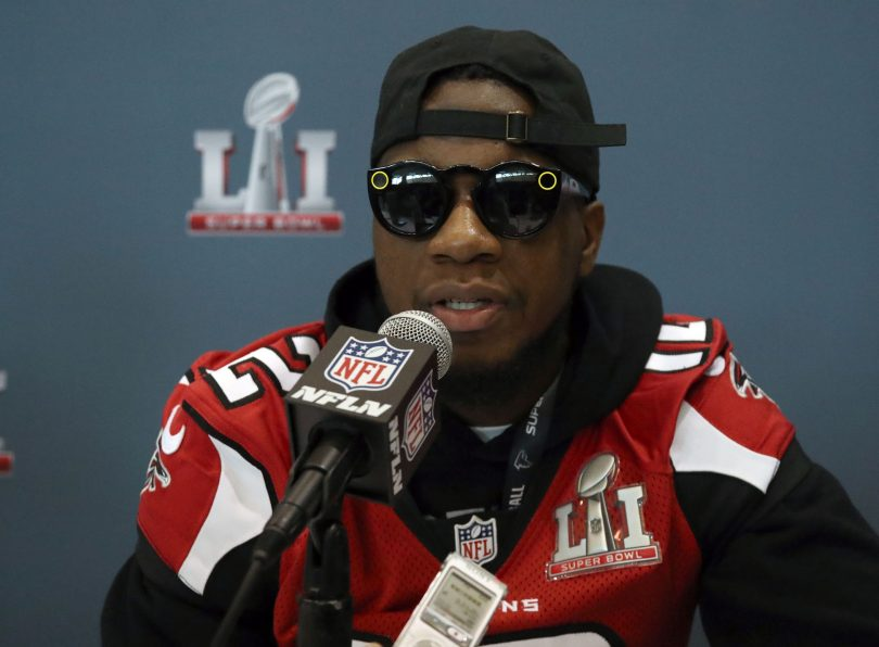 Falcons WR Mohamed Sanu blames long halftime for Super Bowl meltdown