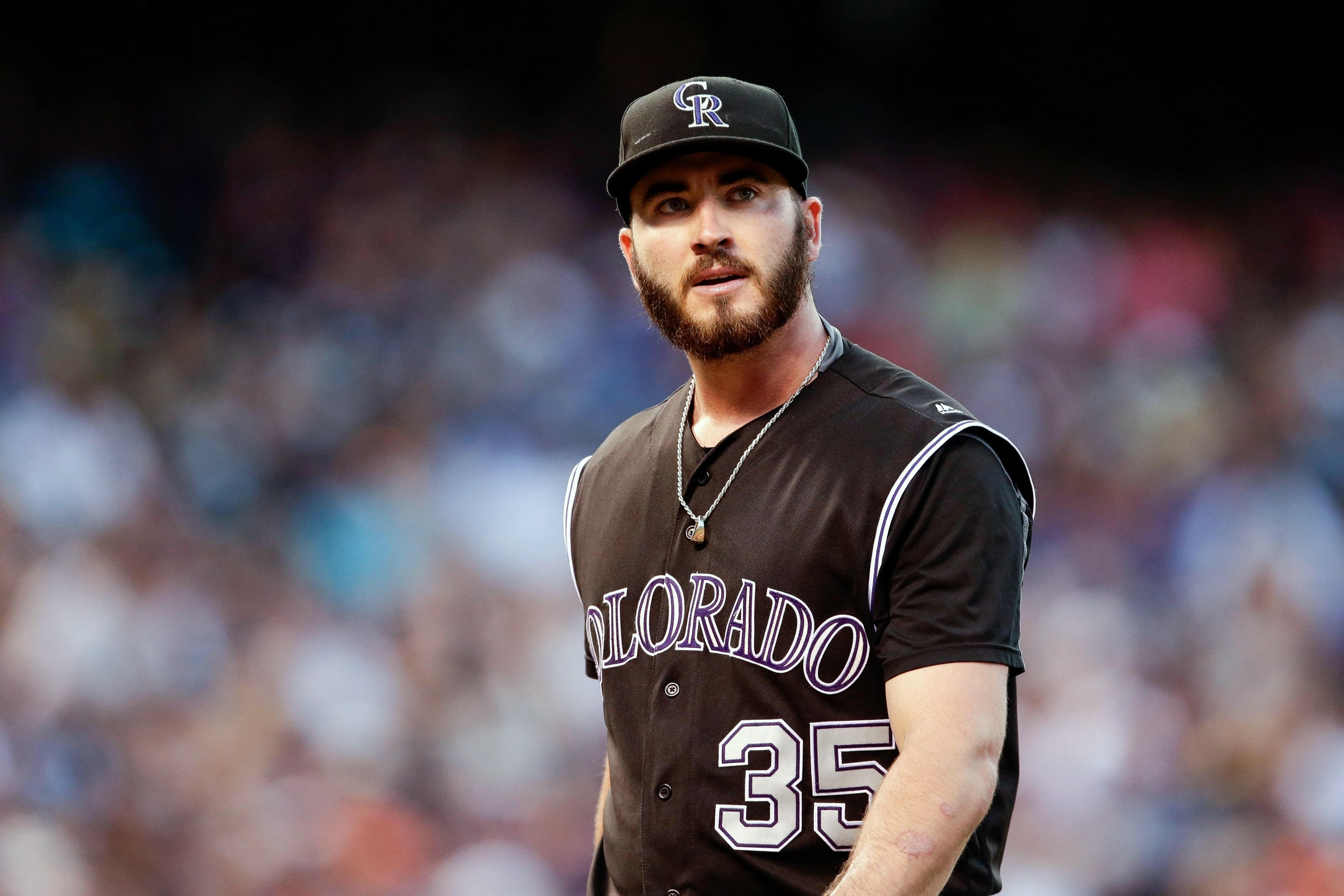 d64acacda37e4 Rockies pitcher Chad Bettis  remains free of cancer