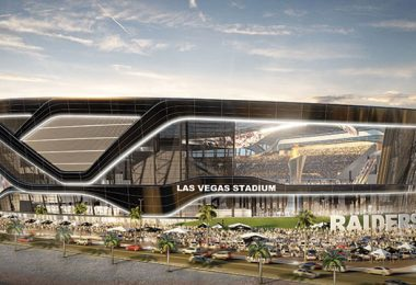 The future home of what will then be known as the Las Vegas Raiders