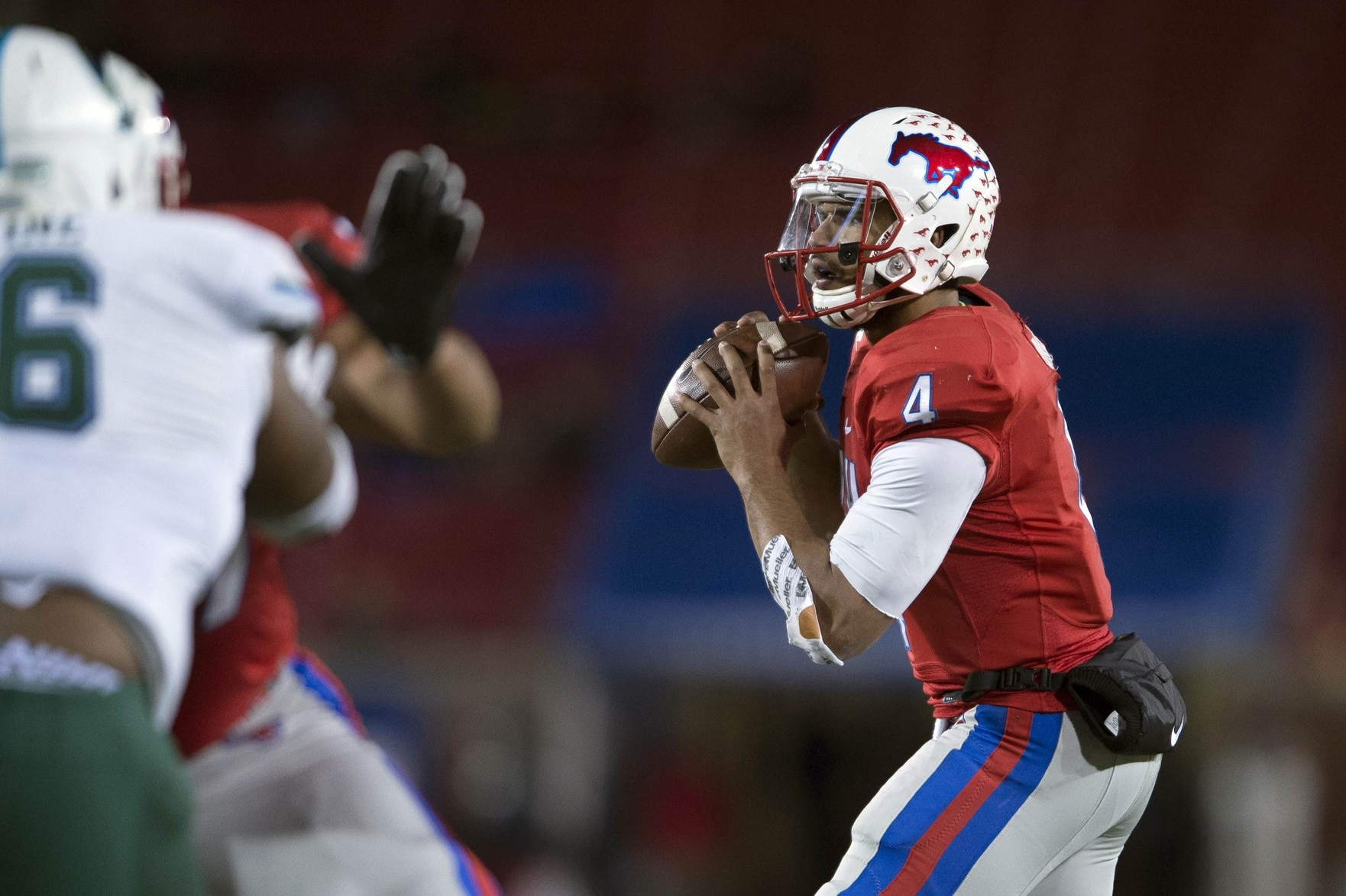 SMU QB Matt Davis has decided to declare for the 2017 NFL Draft.