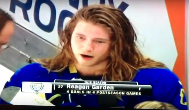 All-Hockey Hair Team