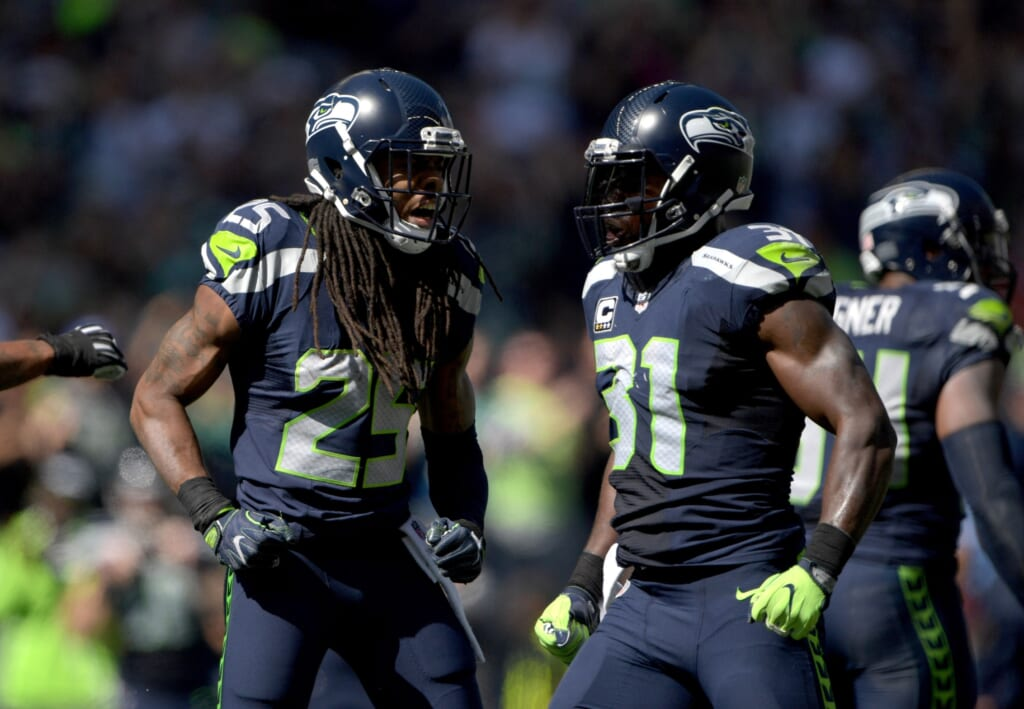 Seahawks expressed displeasure at the NFL's rule that bans players jumping over the line of scrimmage on field-goal attempts.