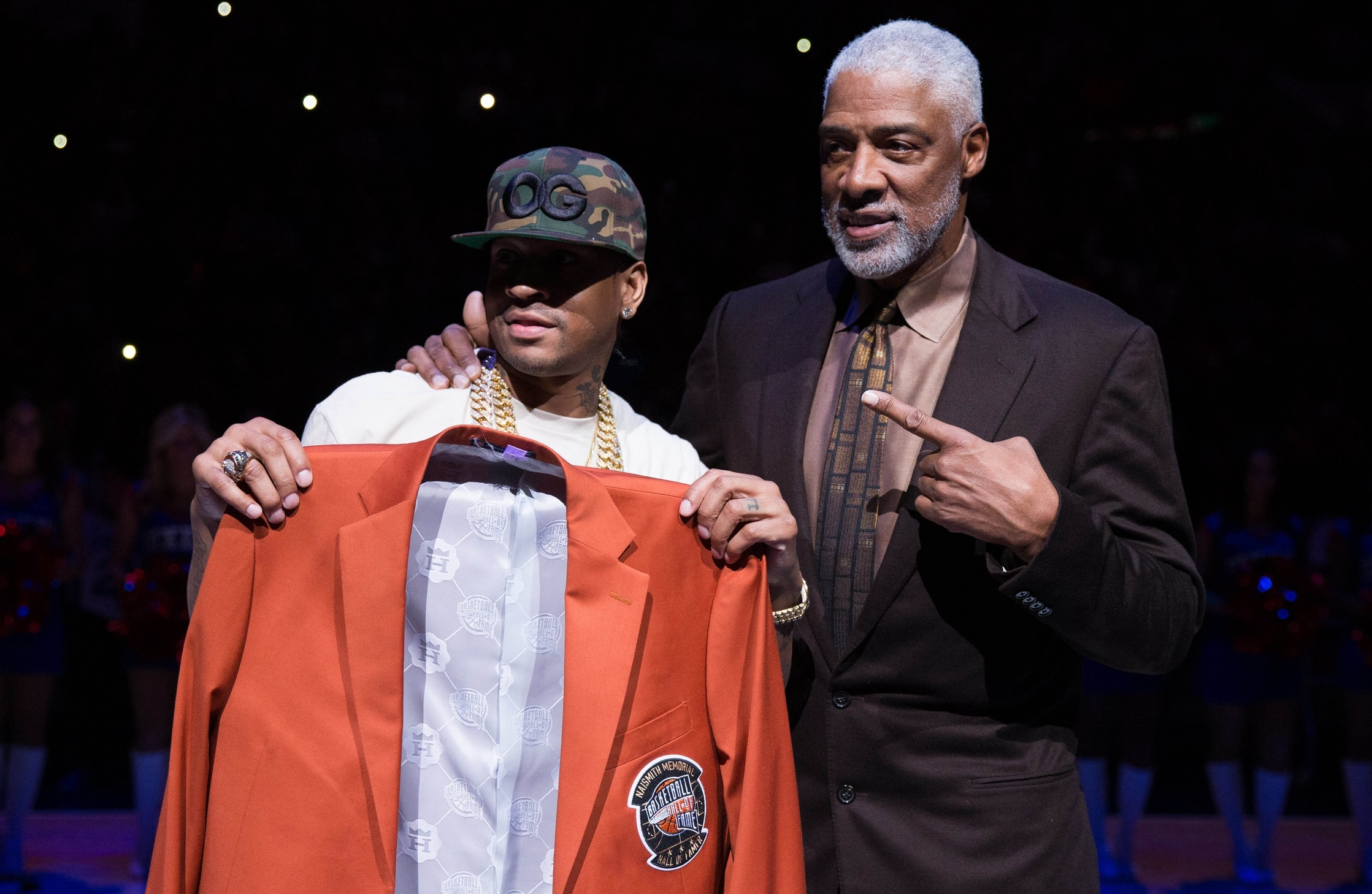 Julius Erving and Allen Iverson are heading up two of the eight teams in the new BIG3 league