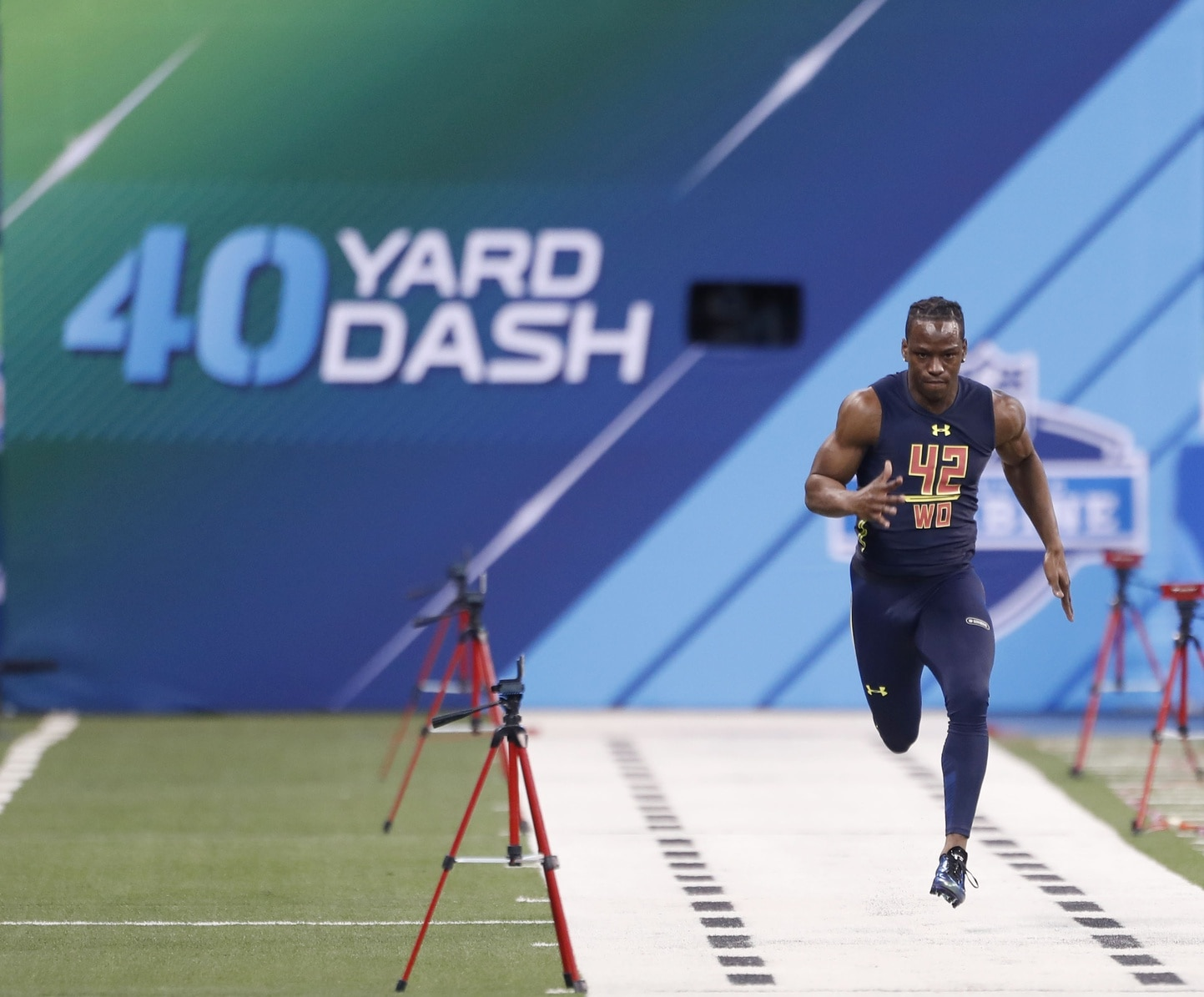 John Ross was a star at the 2017 NFL Scouting Combine