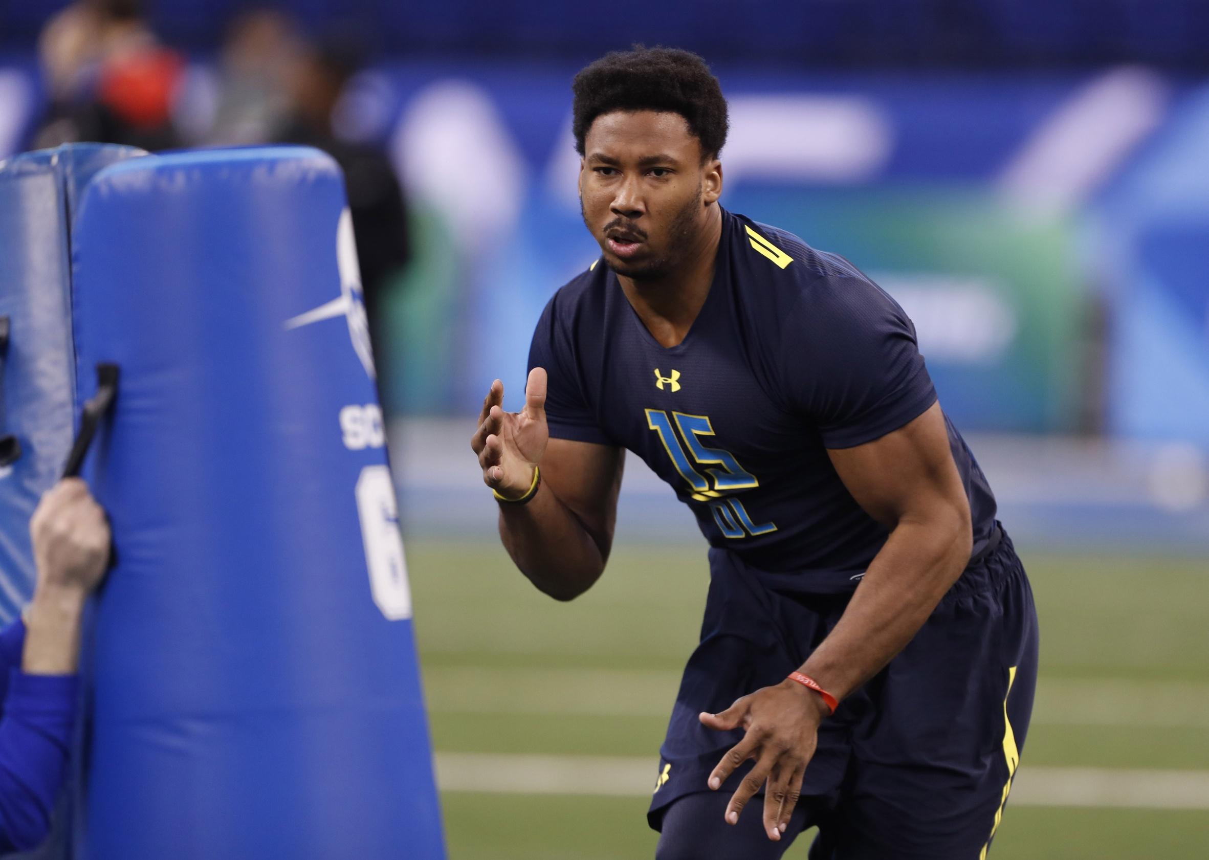 Myles Garrett is a freak among freaks in the NFL Draft