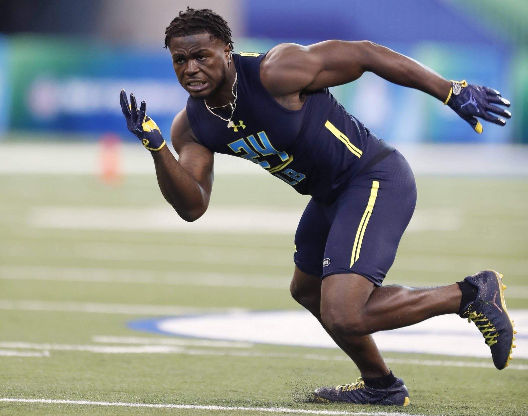 NFL Scouting Combine, Jabrill Peppers