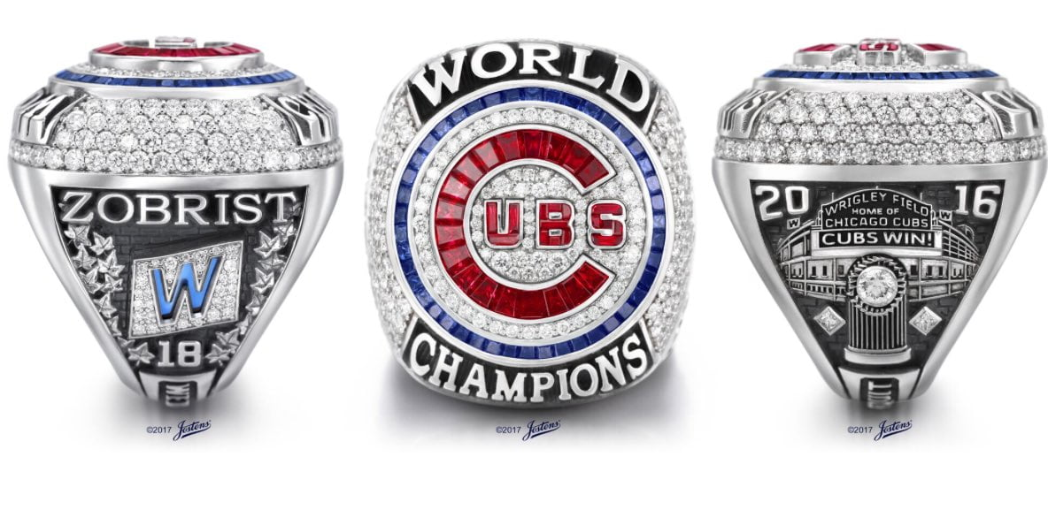 LOOK: Cubs World Series rings are magnificent