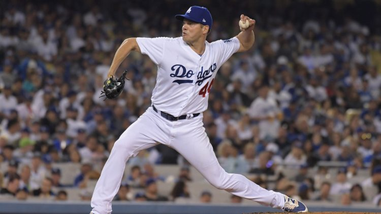 Los Angeles Dodgers P Rich Hill has been placed on the DL