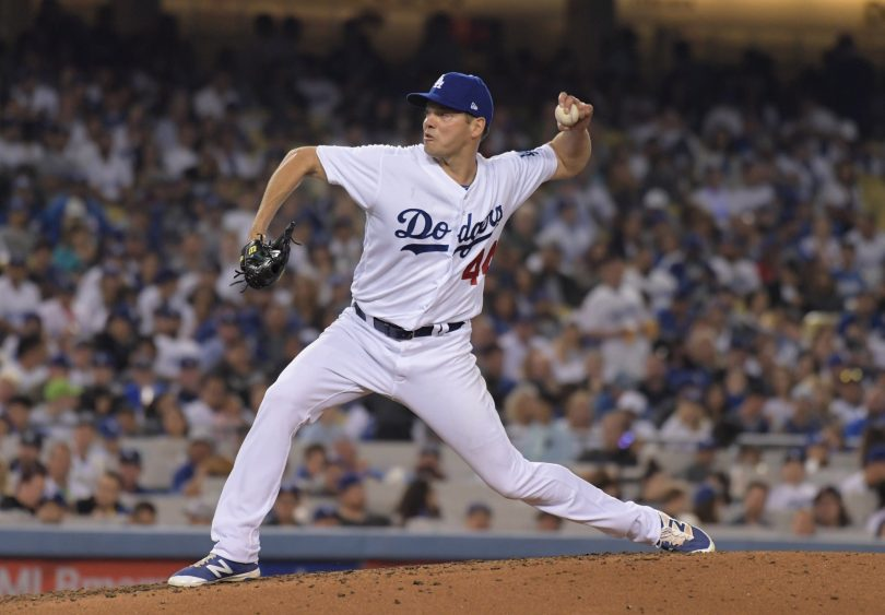 Rich Hill Placed on 10-Day DL with Blister on Middle Finger
