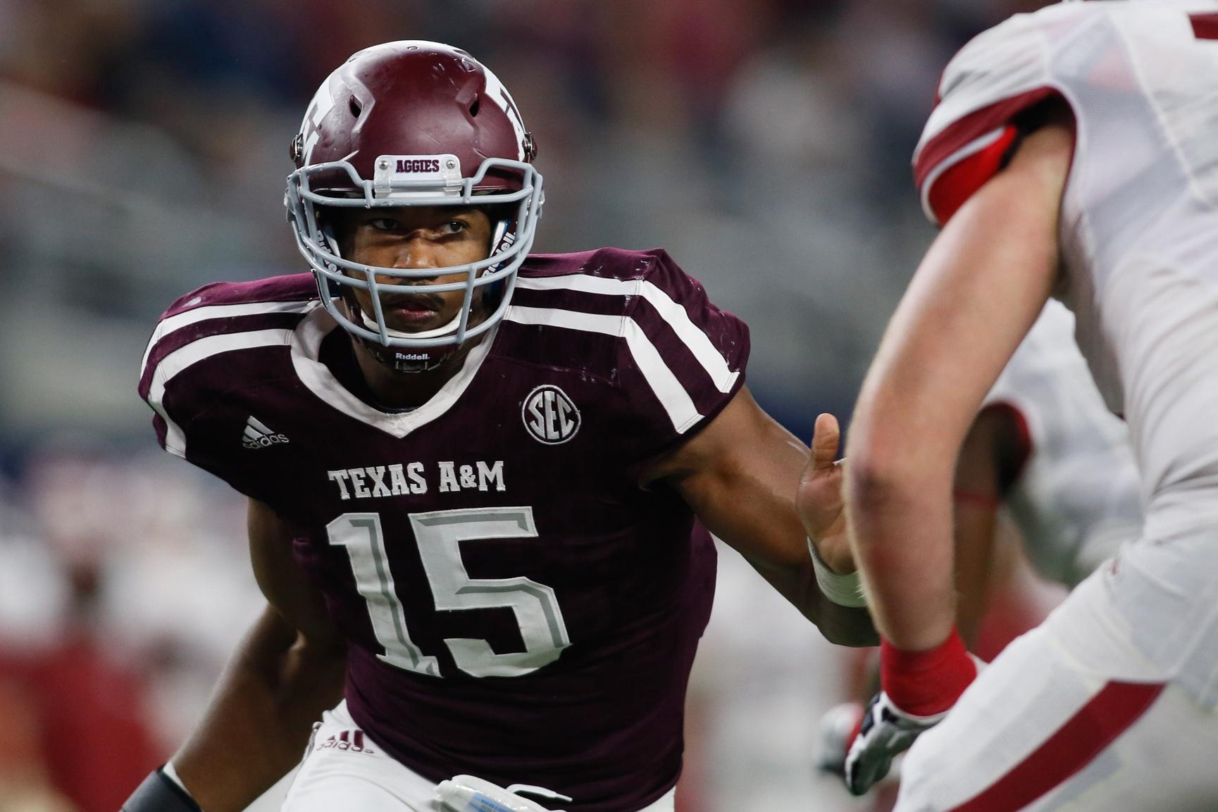 Myles Garrett of Texas A&M at the 2017 NFL Draft