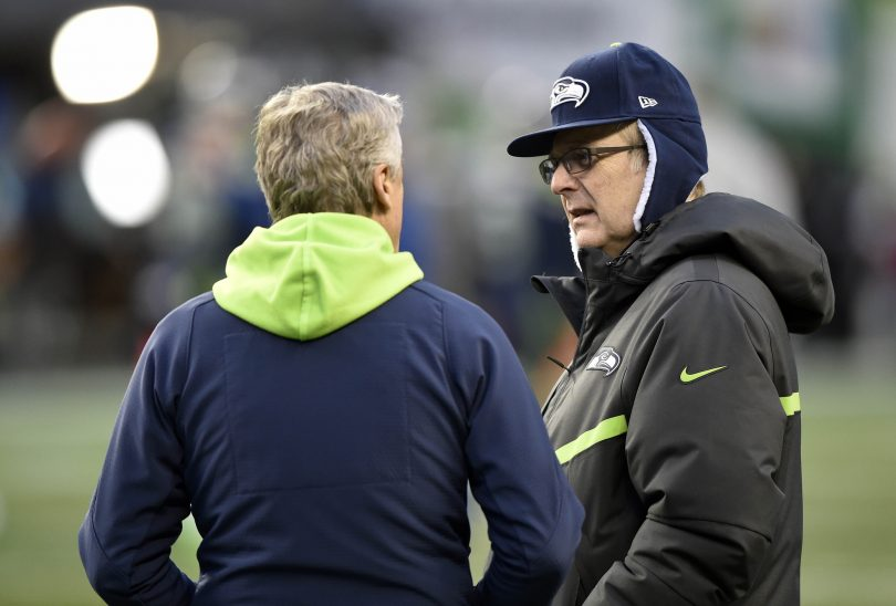Seahawks owner Paul Allen