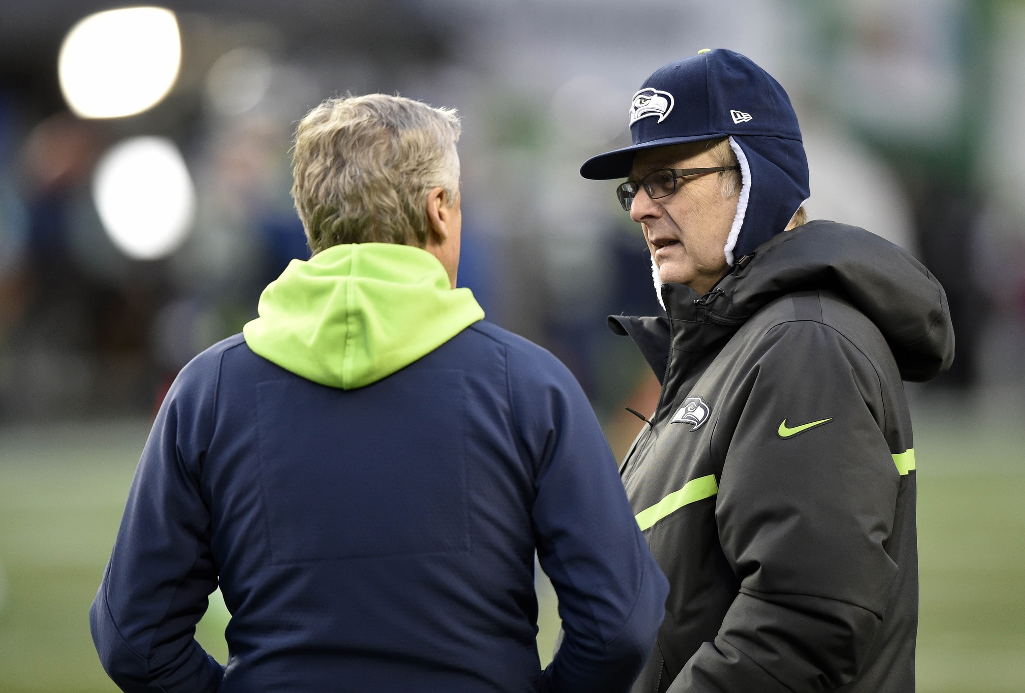 Seahawks owner Paul Allen