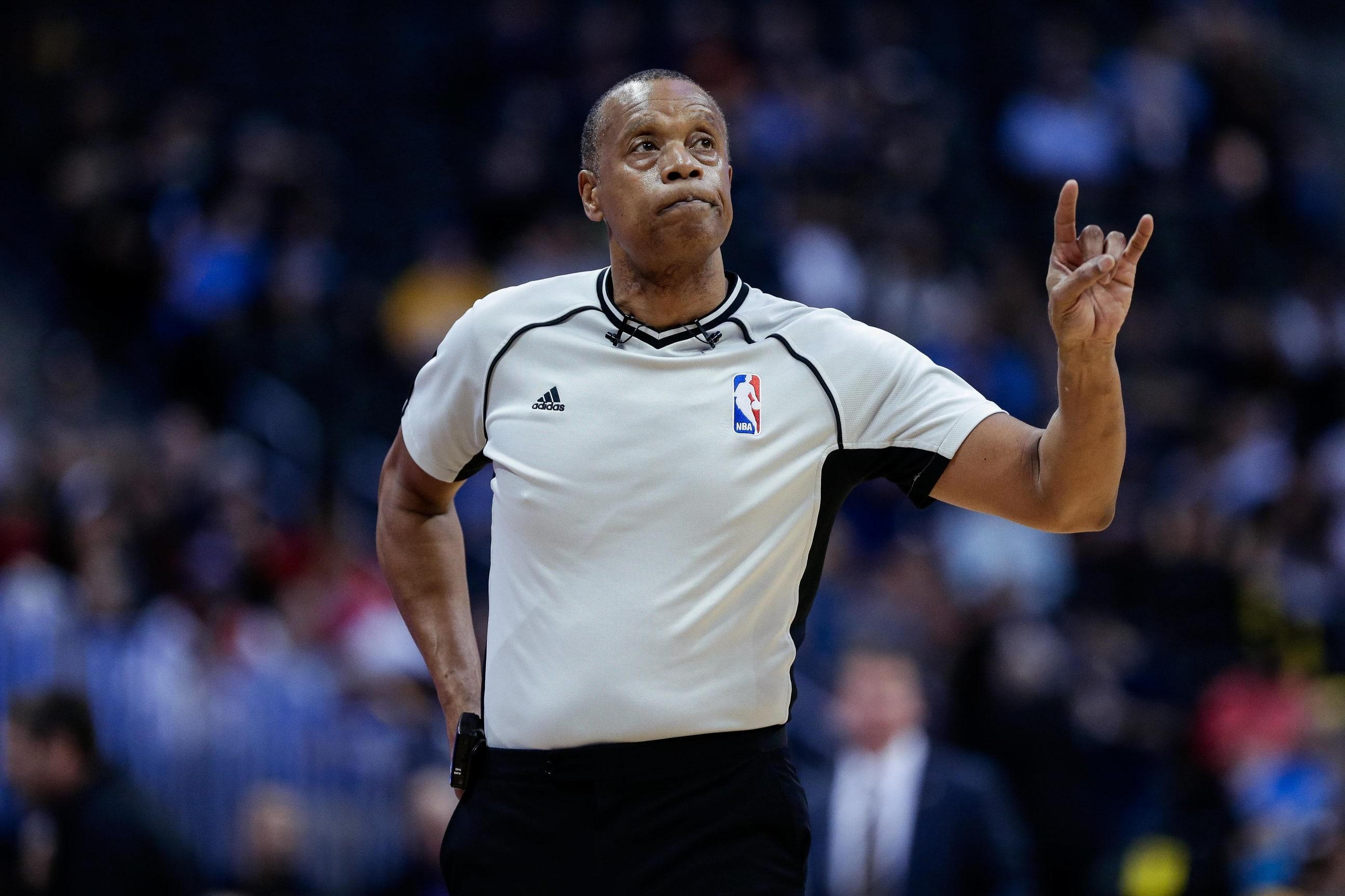 NBA playoffs, nba referee