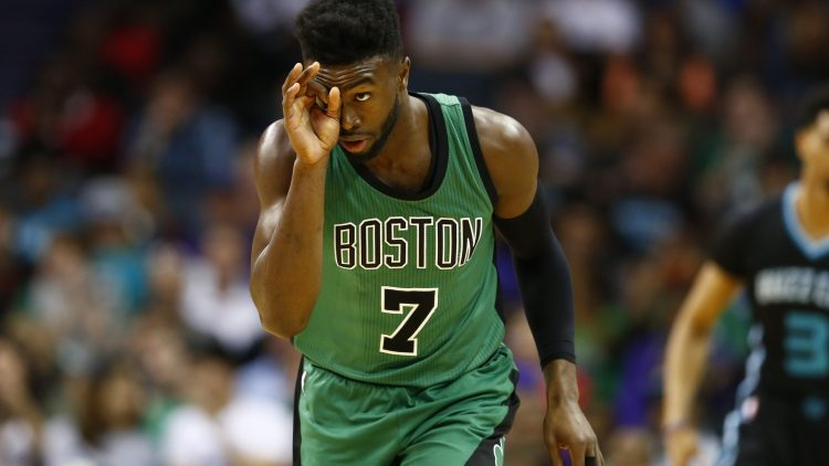Jaylen Brown will surely be a big part of the trade when all is said and done.