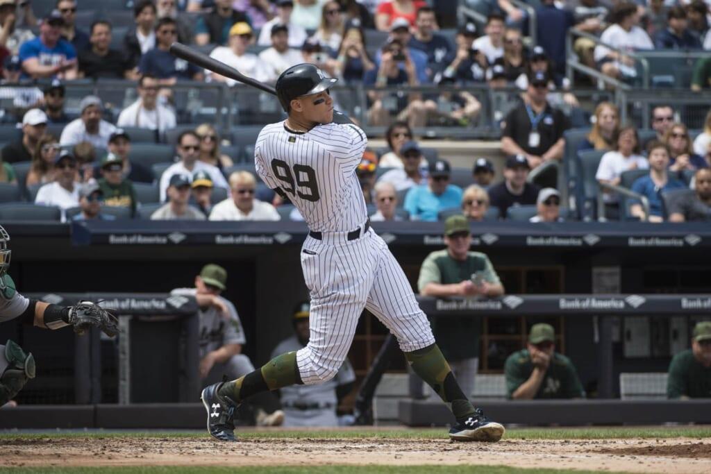 Aaron Judge home run New York Yankees