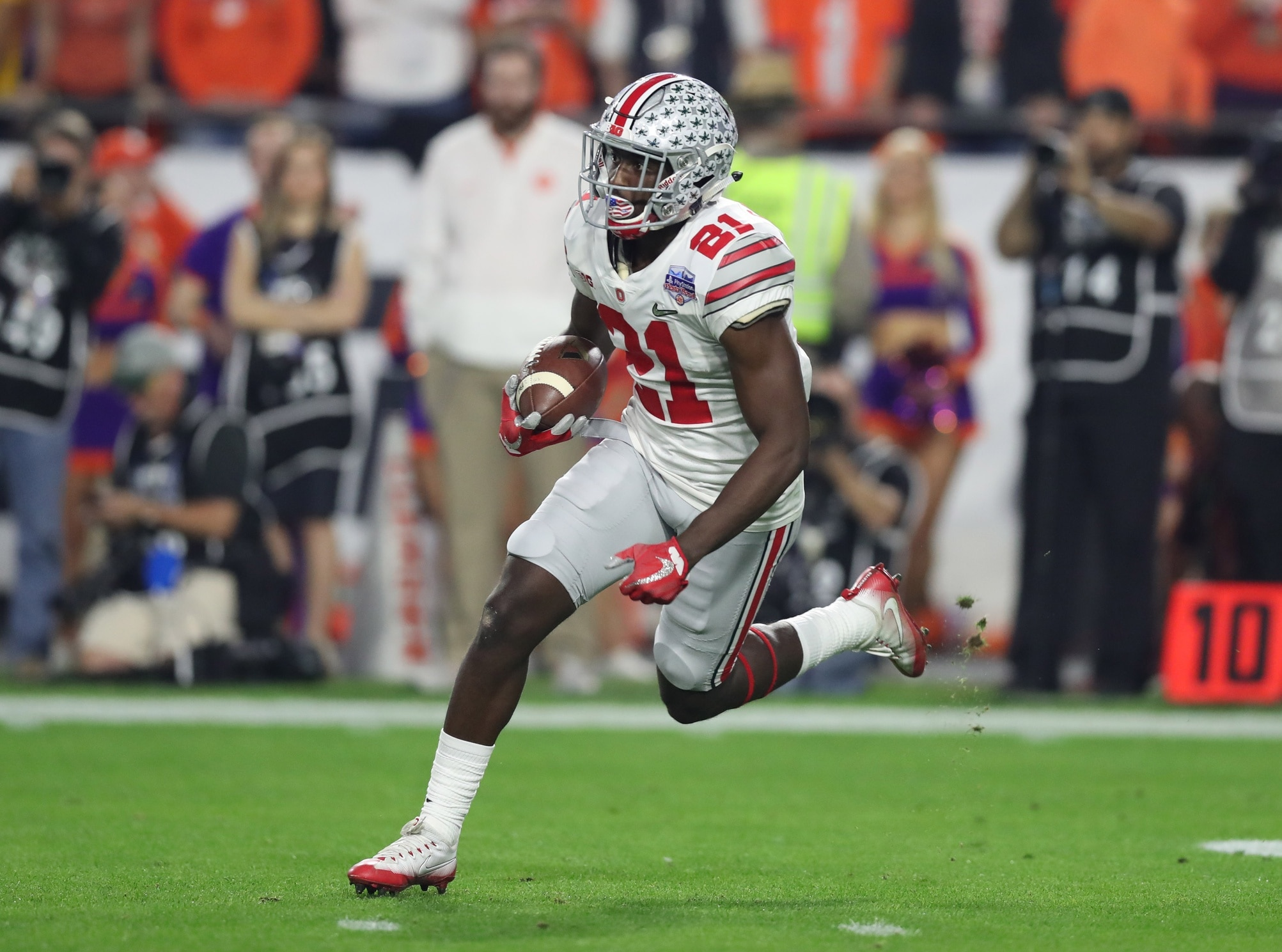 Do the Ohio State Buckeyes have the fastest team in college football?
