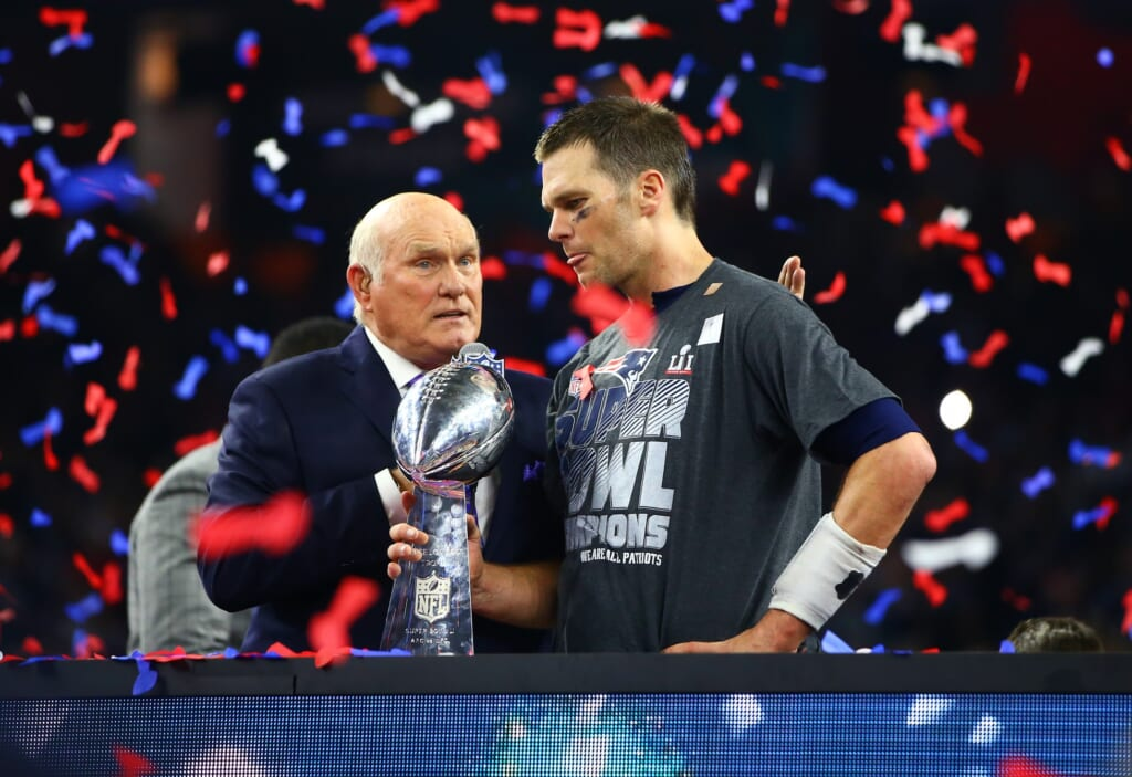 Terry Bradshaw, Tom Brady
