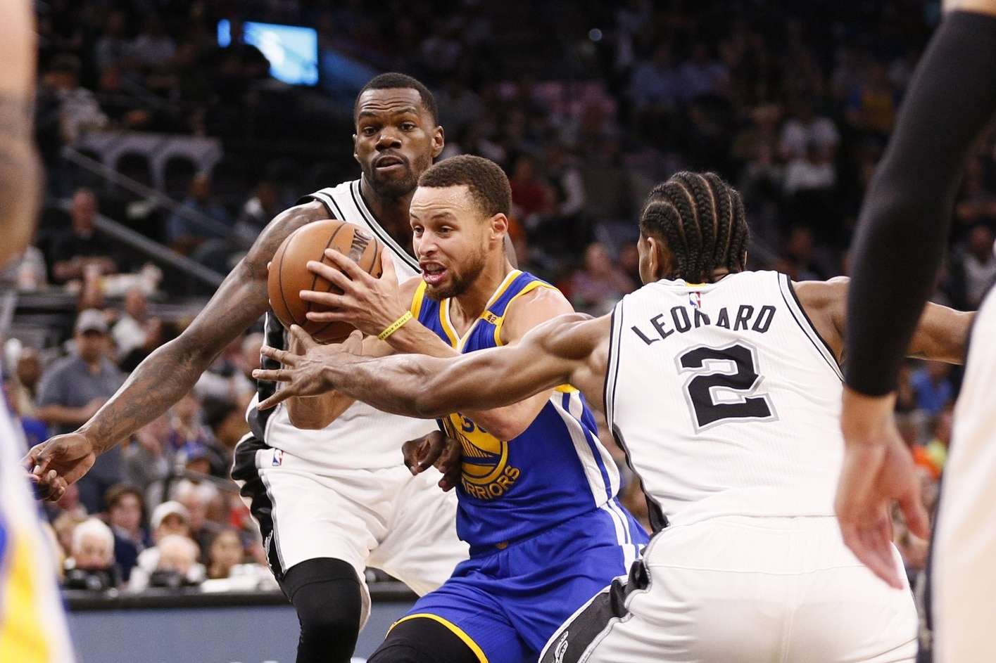 After Saturday night's victory over the San Antonio Spurs, the Warriors do  not seem likely to lose at all in the Western Conference playoffs and,  perhaps, ...
