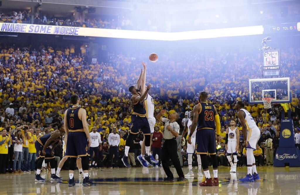 The Warriors-Cavaliers rivalry continues in Game 5 Monday night