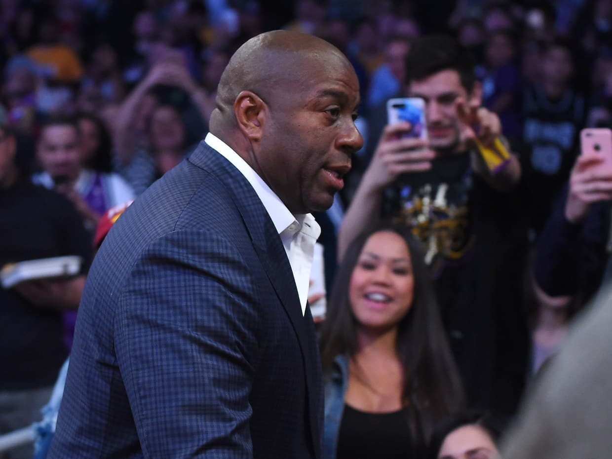 Will new Lakers president Magic Johnson change up the team's rebuilding plan?