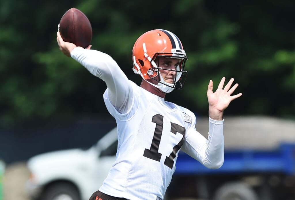 Cleveland Browns QB Brock Osweiler wants to be the team's starter in 2017.