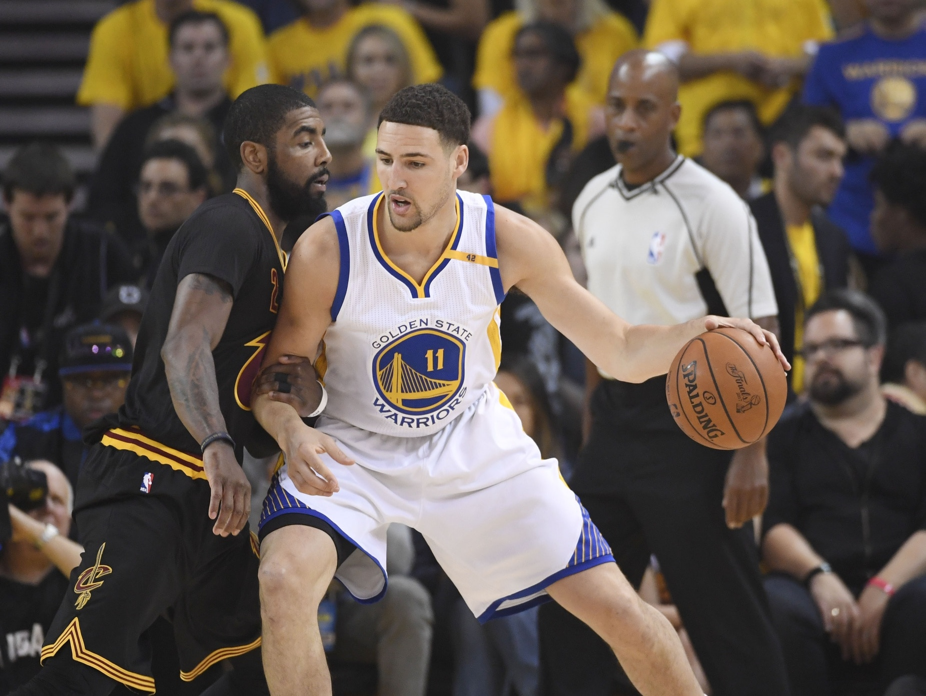 Golden State Warriors guard Klay Thompson wants to be with the team for the long haul.