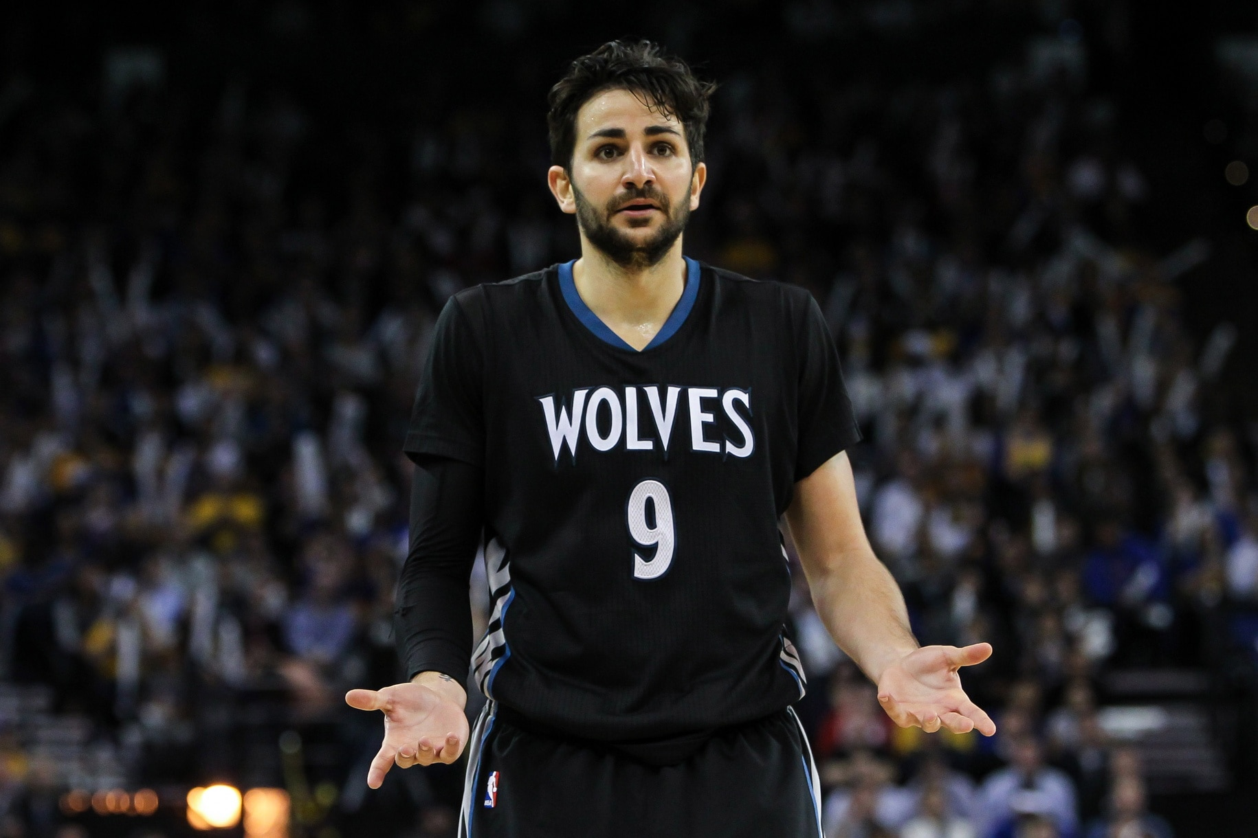Is Ricky Rubio no longer on the trade block following the Wolves acquisition of Jimmy Butler?