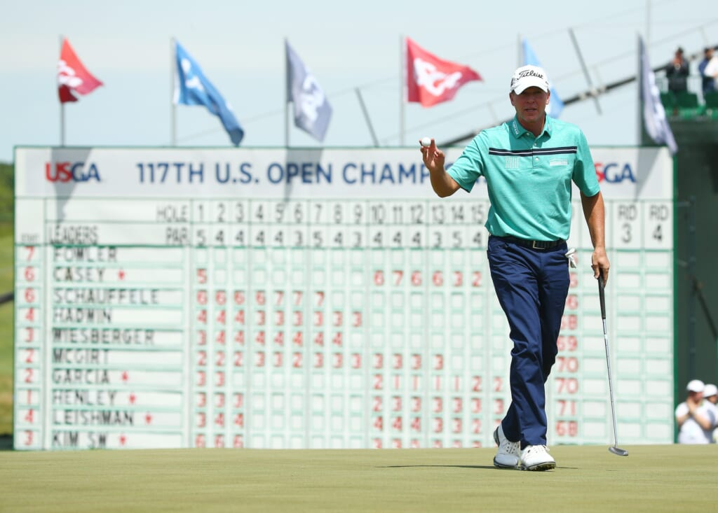 Steve Stricker was tremendous over the weekend at the 2017 U.S. Open