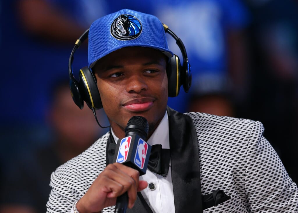 The Dallas Mavericks add a potential point guard of the future in Dennis Smith Jr.