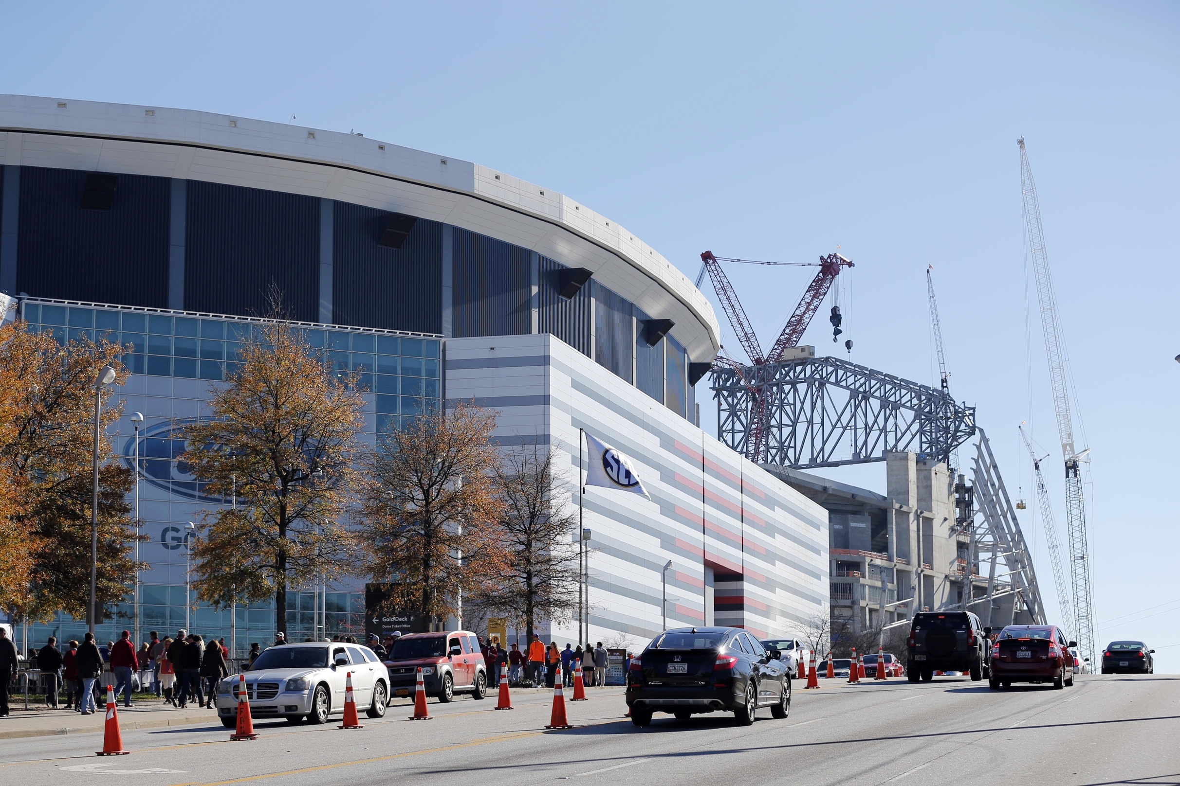 Georgia Dome scheduled to be imploded on November 20, 2017