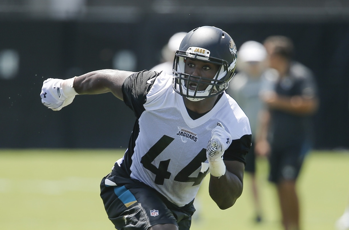 Jaguars linebacker Myles Jack is one of the NFL players set to take a big leap in 2017