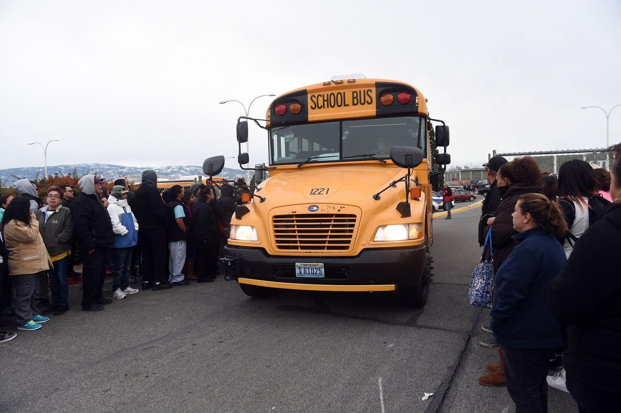 Tishomingo High School school bus