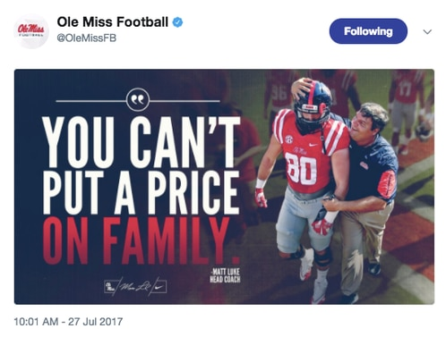 Michael Oher defends former coach Hugh Freeze