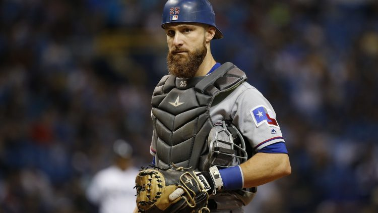 The Cubs are interested in Rangers catcher Jonathan Lucroy