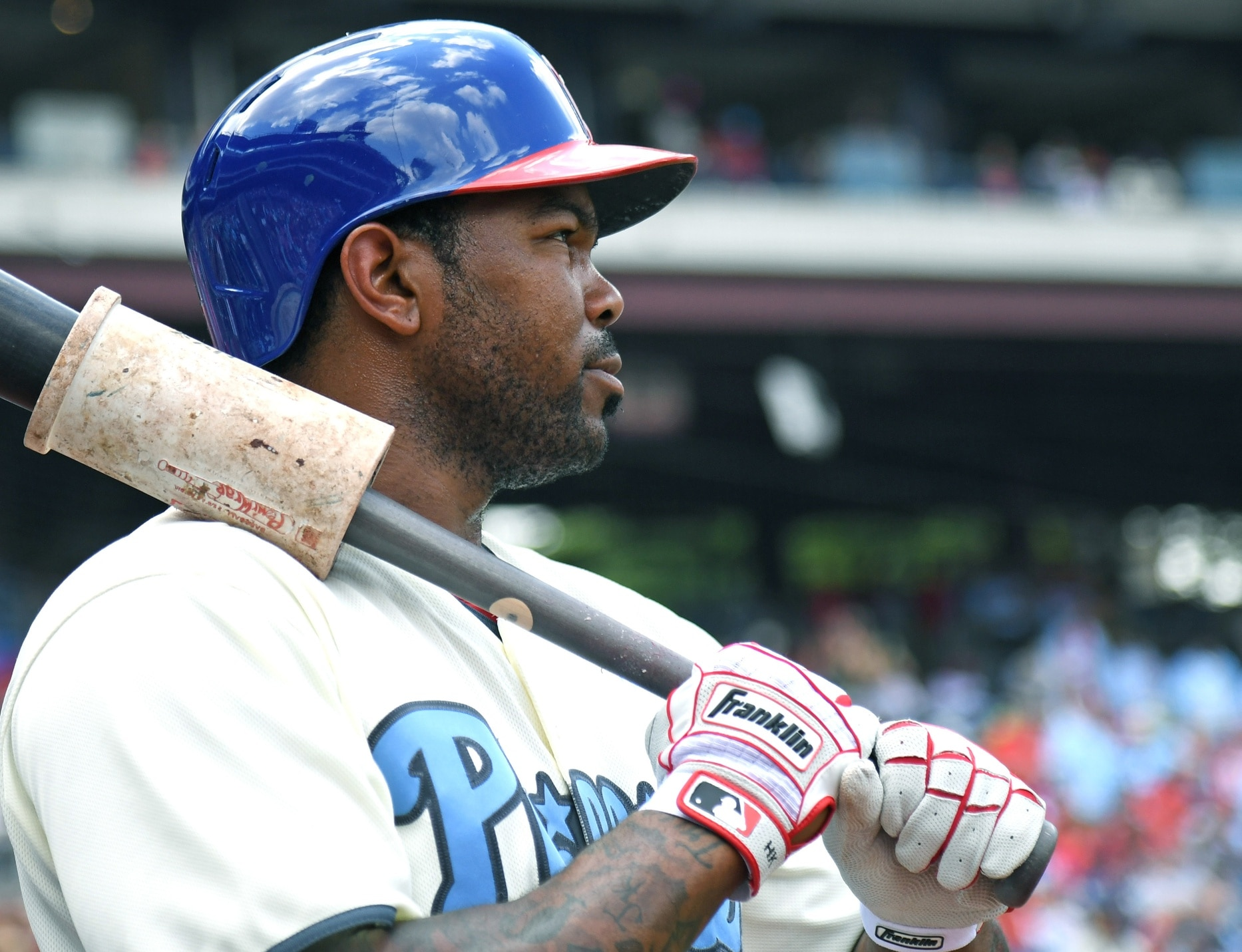 The Phillies have traded veteran Howie Kendrick to the division rival Nationals.