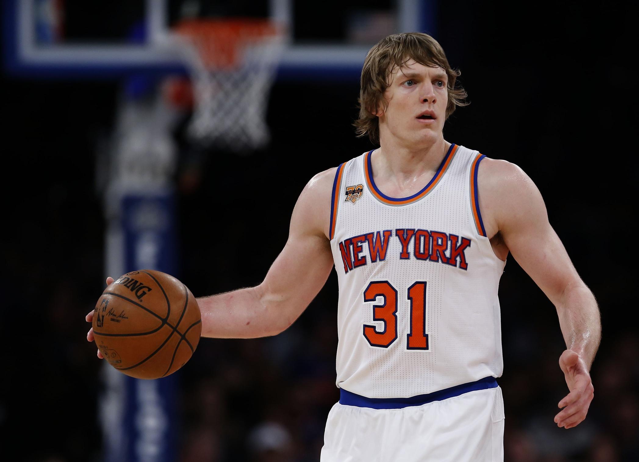 New York Knicks Ron Baker