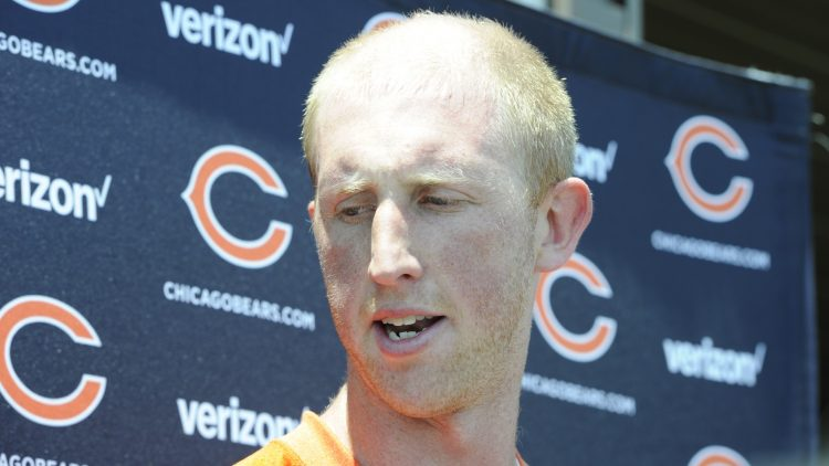 Mike Glennon of the Chicago Bears is one of the NFL quarterbacks under the most pressure in 2017