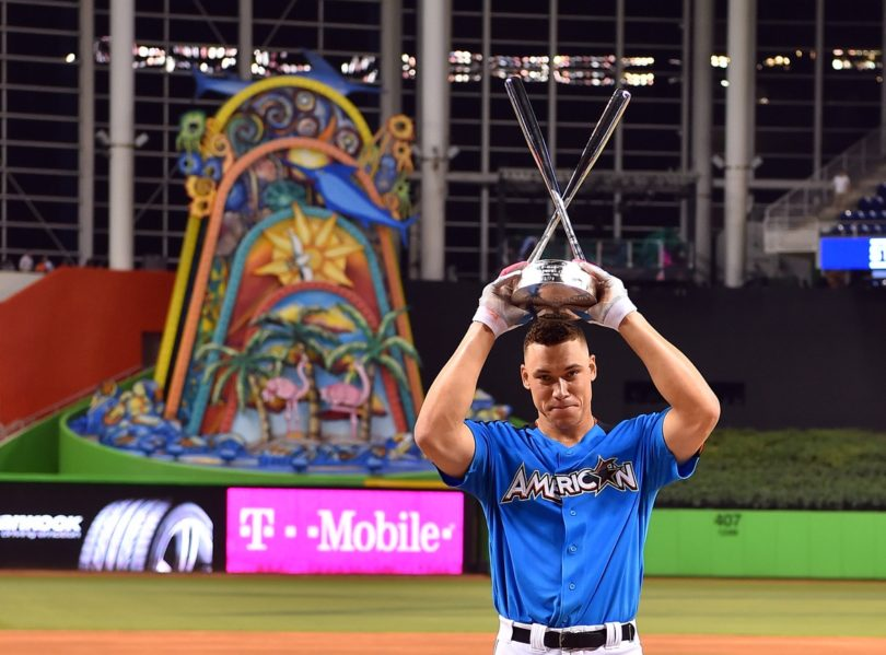 Aaron Judge wins 2017 Home Run Derby