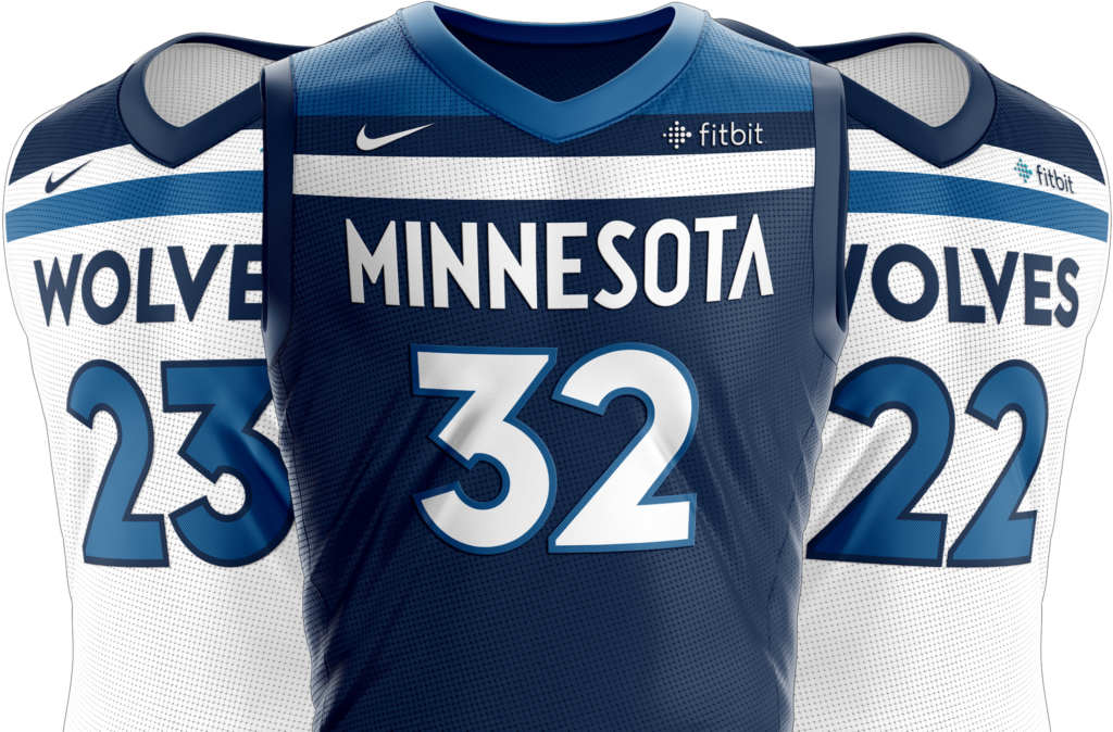 Check these new Minnesota Timberwolves jerseys out.