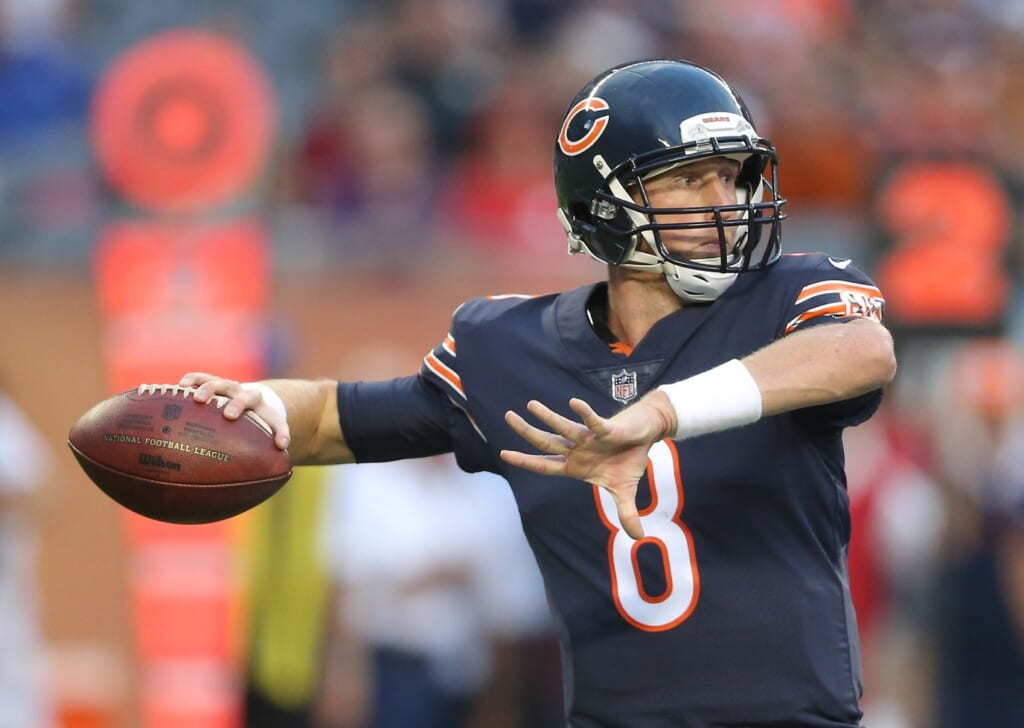 Mike Glennon was downright atrocious in his first Bears game.