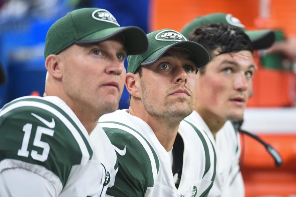 The Jets' quarterback situation is laughable.