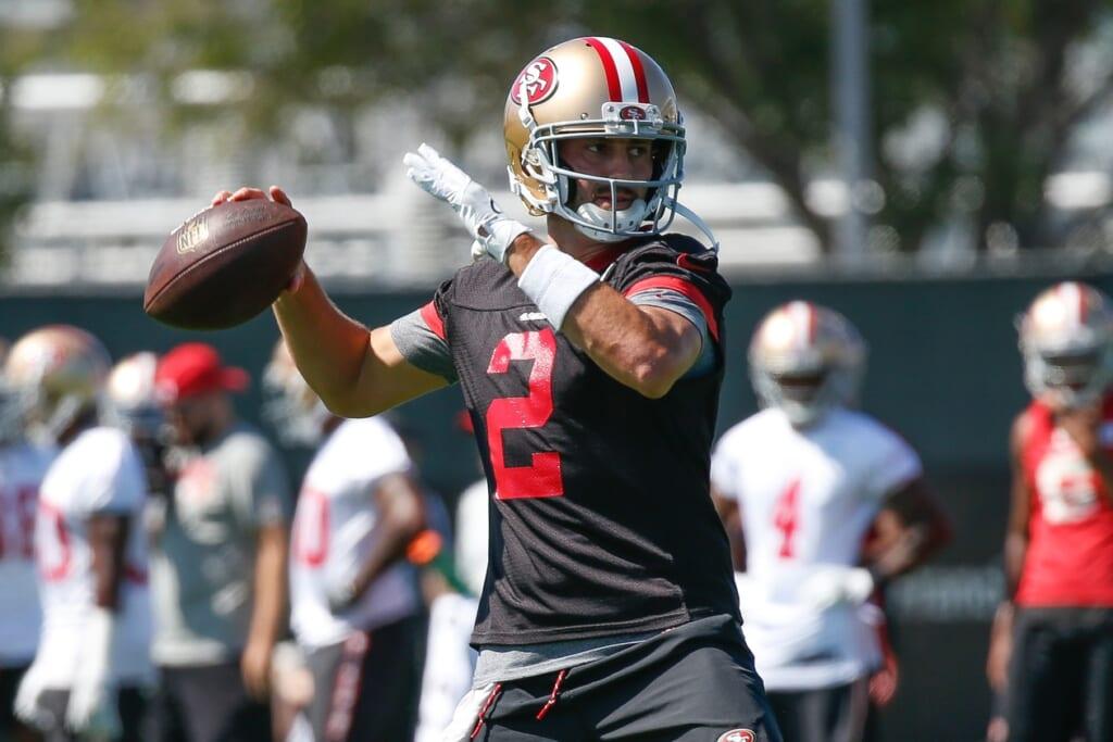 49ers quarterback Brian Hoyer