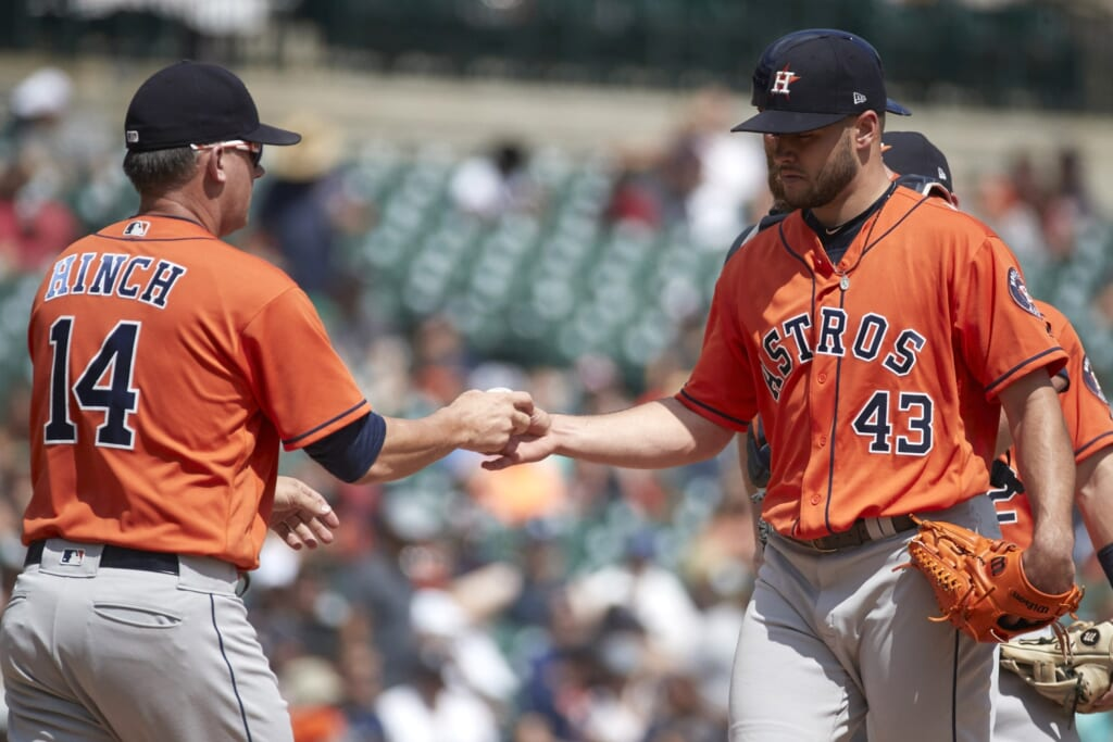 Lance McCullers Jr Houston Astros
